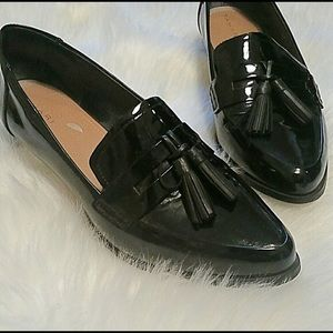 Tahari Louisa Tassel Loafer BLACK